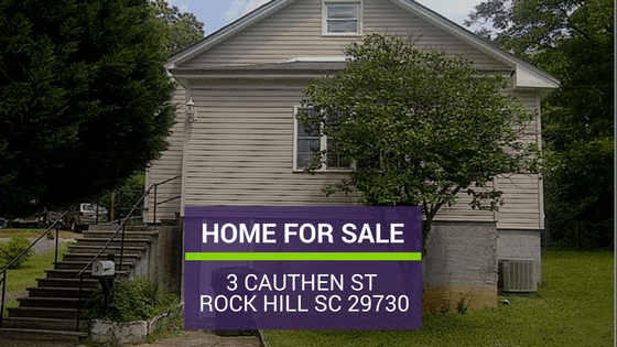 Rock Hill SC HOME FOR SALE