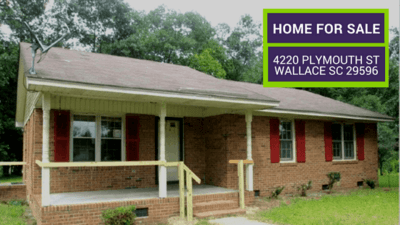 Wallace SC Home for Sale