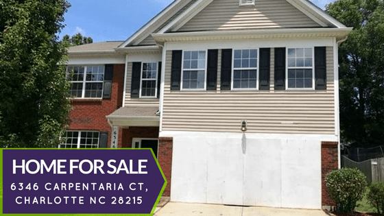 Charlotte NC Home for Sale