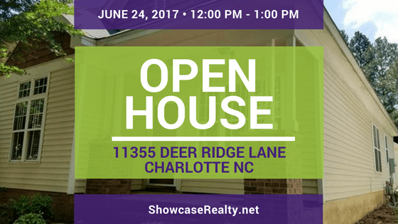 Open House: 11355 Deer Ridge Lane Charlotte NC | Home for Rent