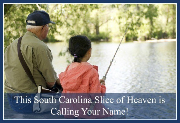 South Carolina Private Lake with Acreage for Sale