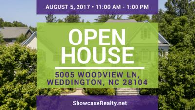 Home for Sale in Weddington NC