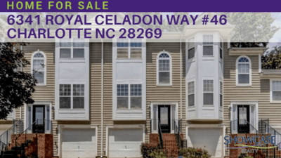 6341 Royal Celadon Way #46 Charlotte NC 28269 | Home for Sale