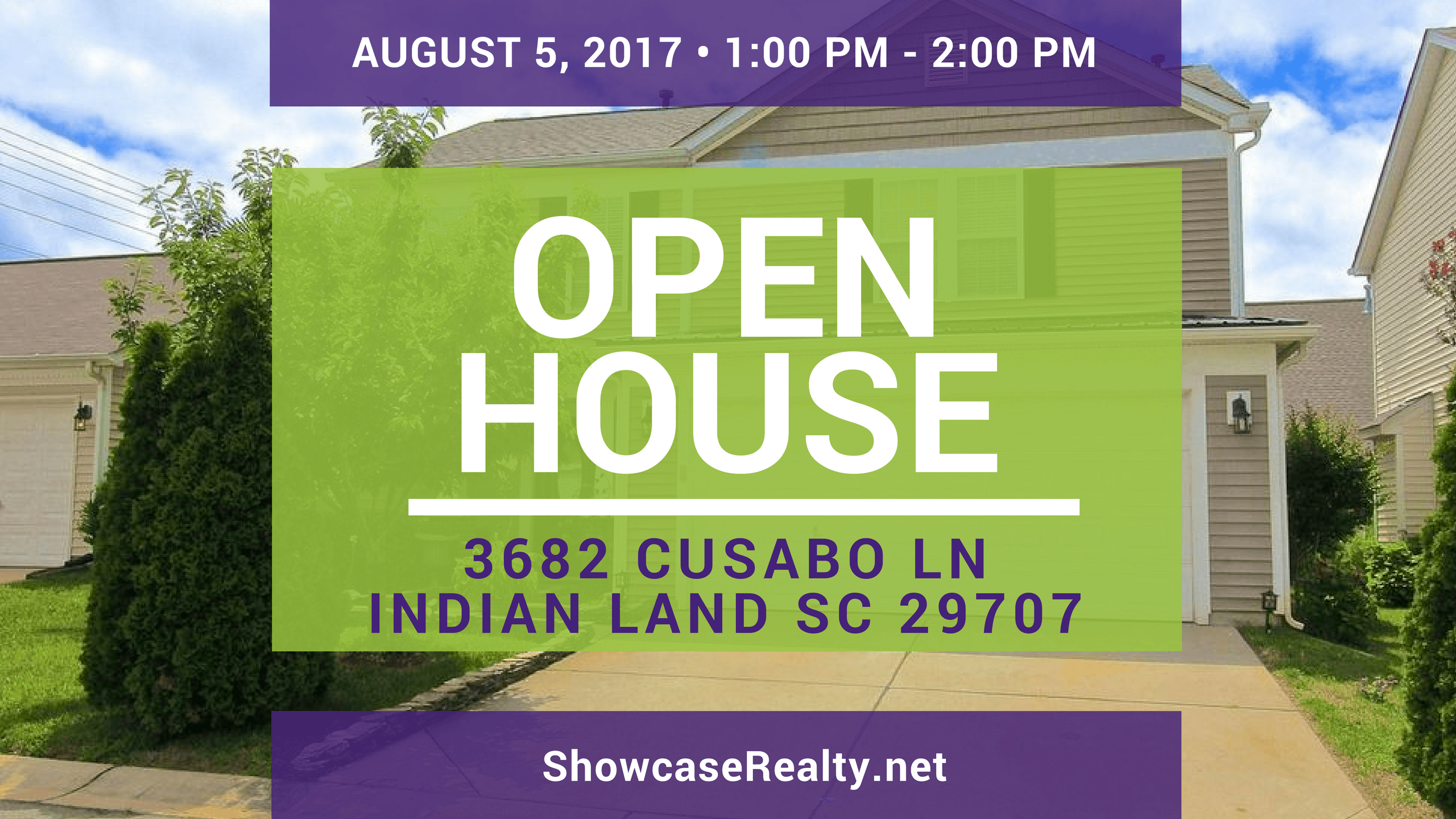 Home for Sale Open House: 3682 Cusabo Ln Indian Land SC 29707