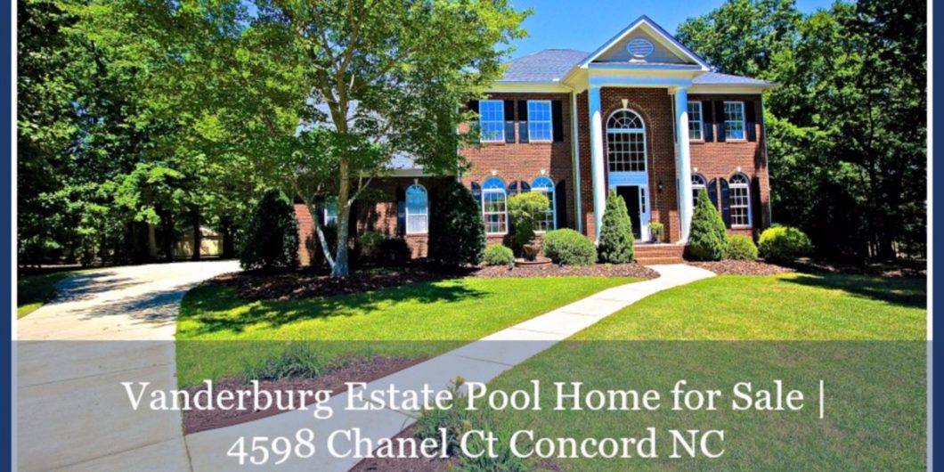 Pool Homes for Sale in Concord NC