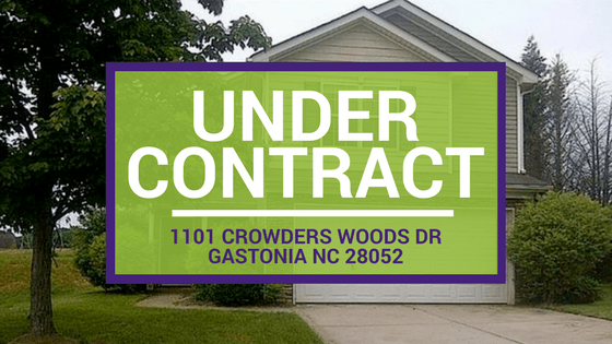 UNDER CONTRACT! 1101 Crowders Woods Dr Gastonia NC 28052