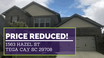 PRICE REDUCED | 1563 Hazel St Tega Cay SC 29708