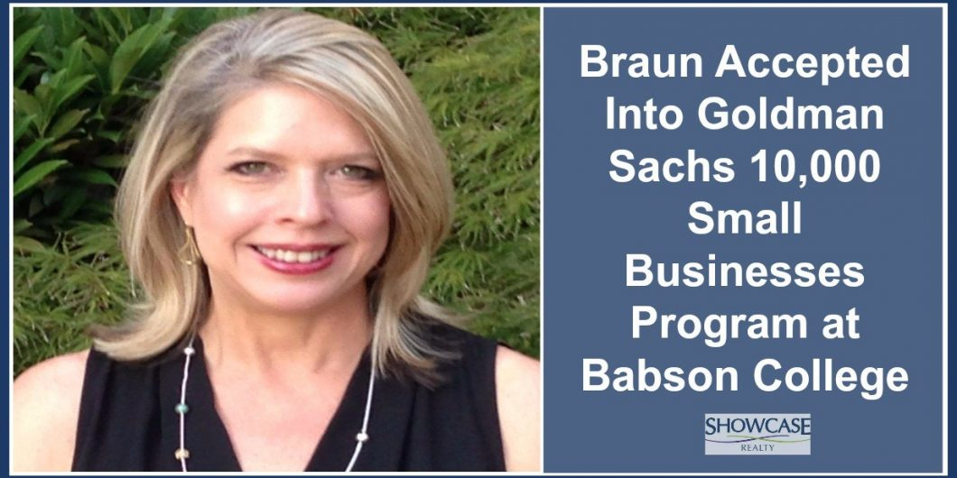 Braun Accepted Into Goldman Sachs 10,000 Small Businesses Program