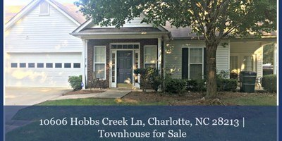 Townhomes for Sale in Charlotte NC