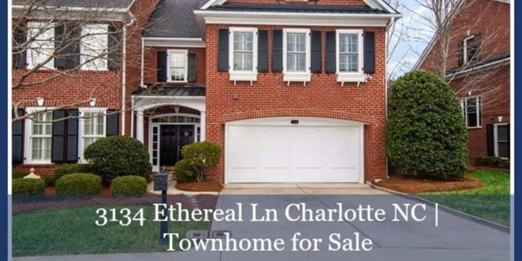 Townomes for Sale in Charlotte NC