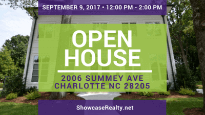 Home for Sale Open House: 2006 Summey Ave Charlotte NC 28205