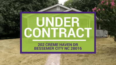 UNDER CONTRACT: 202 Creme Haven Dr Bessemer City NC 28016