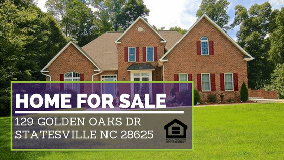 129 Golden Oaks Dr Statesville NC 28625 | Home for Sale