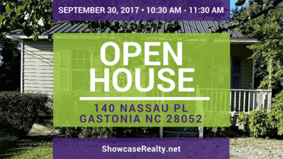 Home for Sale Open House: 140 Nassau Pl Gastonia NC 28052