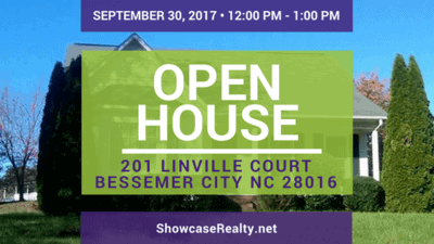 Home for Rent Open House: 201 Linville Court Bessemer City NC 28016