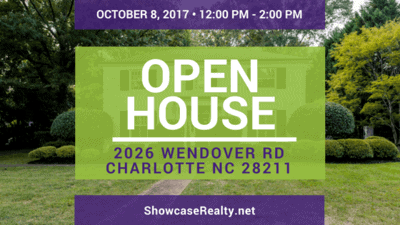 Home for Sale Open House: 2026 Wendover Rd Charlotte NC 28211