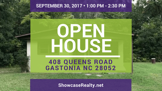 Home for Sale Open House: 408 Queens Road Gastonia NC 28052