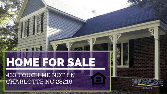 Home for Sale 433 Touch Me Not Ln Charlotte NC 28216