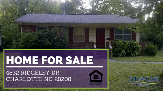 4832 Ridgeley Dr Charlotte NC 28208 | Home for Sale