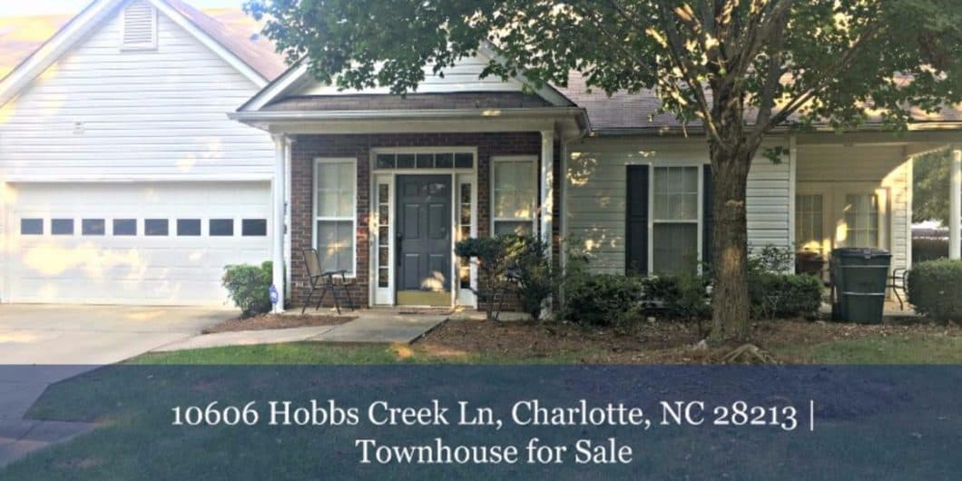 Charlotte Townhouse for Sale