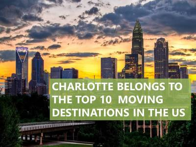 Charlotte is one of the best places to look for a home