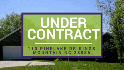 UNDER CONTRACT: 110 Pinelake Dr Kings Mountain NC 28086