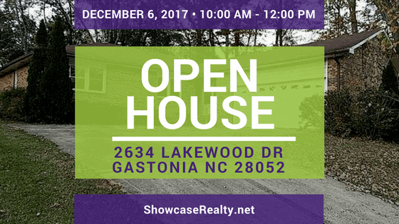 Home for Sale Open House: 2634 Lakewood Dr Gastonia NC 28052