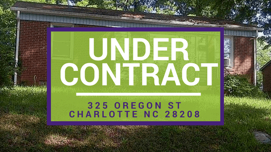 UNDER CONTRACT: 325 Oregon St Charlotte NC 28208