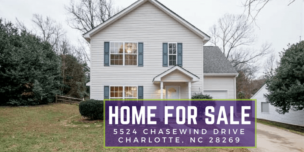 5524 Chasewind Drive Charlotte NC 28269 | Home for Sale