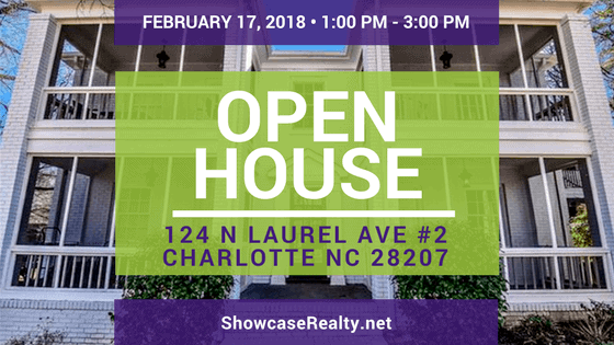 Home for Sale Open House: 124 N Laurel Ave #2 Charlotte NC 28207
