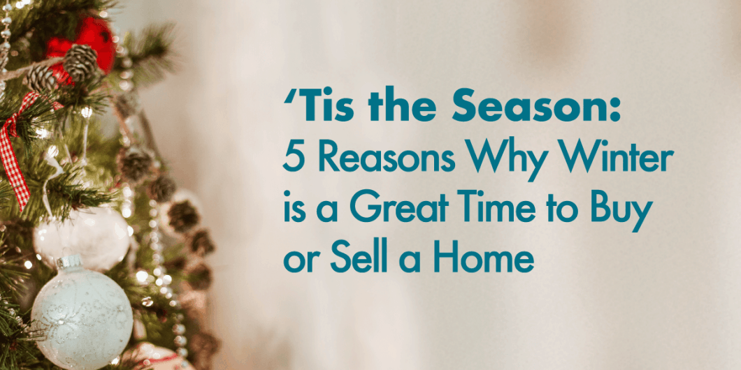 5 Reasons Why You SHould think about buying or selling your Charlotte home this winter