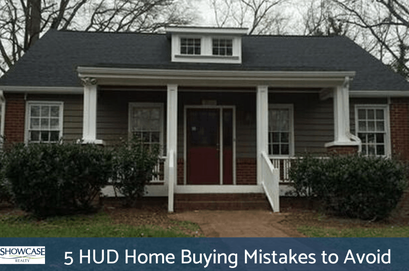 HUD Home Buying Mistakes to Avoid - Charlotte NC Home