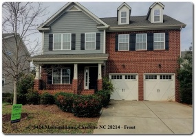 3424 Madrigal Lane,Charlotte,Mecklenburg,North Carolina,United States 28214,3 Bedrooms Bedrooms,2.5 BathroomsBathrooms,Home,Madrigal Lane,1356
