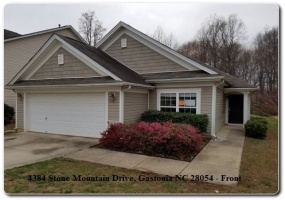 4384 Stone Mountain Drive,Gastonia,Gaston,North Carolina,United States 28054,3 Bedrooms Bedrooms,2 BathroomsBathrooms,Home,Stone Mountain Drive,1361