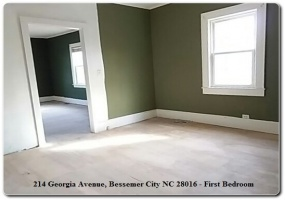 214 Georgia Avenue,Bessemer City,Gaston,North Carolina,United States 28016,2 Bedrooms Bedrooms,1.5 BathroomsBathrooms,Home,Georgia Avenue,1363